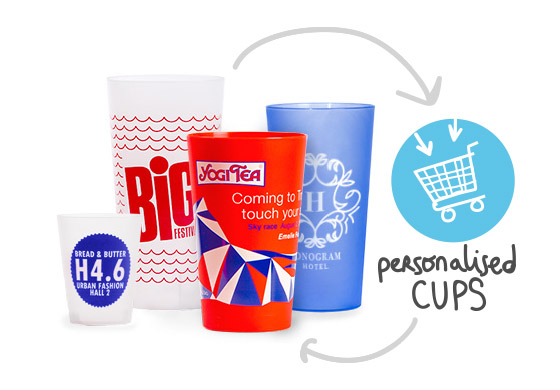 Ecoverre Personalised And Reusable Cups