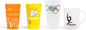 plastic reusable cups for hospitals, residences, stadiums, schools, institute, ...