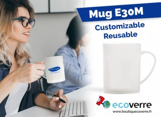 Your coffee, with a reusable cup!